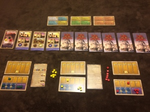 STI.Set up for a 3 player game