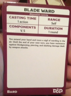 DnD SpellCards – quick pics – The Rpg Academy