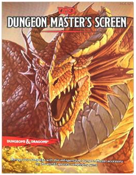 Michael bought the new D&D5e DM Screen – The Rpg Academy